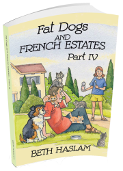Fat Dogs 4 3D Book Cover transp NEW USE